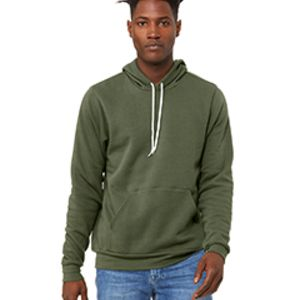 3719, Canvas Unisex Poly-Cotton Fleece Pullover Hoodie Thumbnail