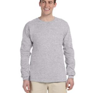 G240, Gildan Adult Ultra Cotton® 6 oz. Long-Sleeve T-Shirt Thumbnail