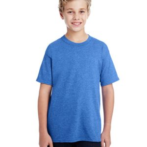 G800B, Gildan Youth 5.5 oz., 50/50 T-Shirt Thumbnail